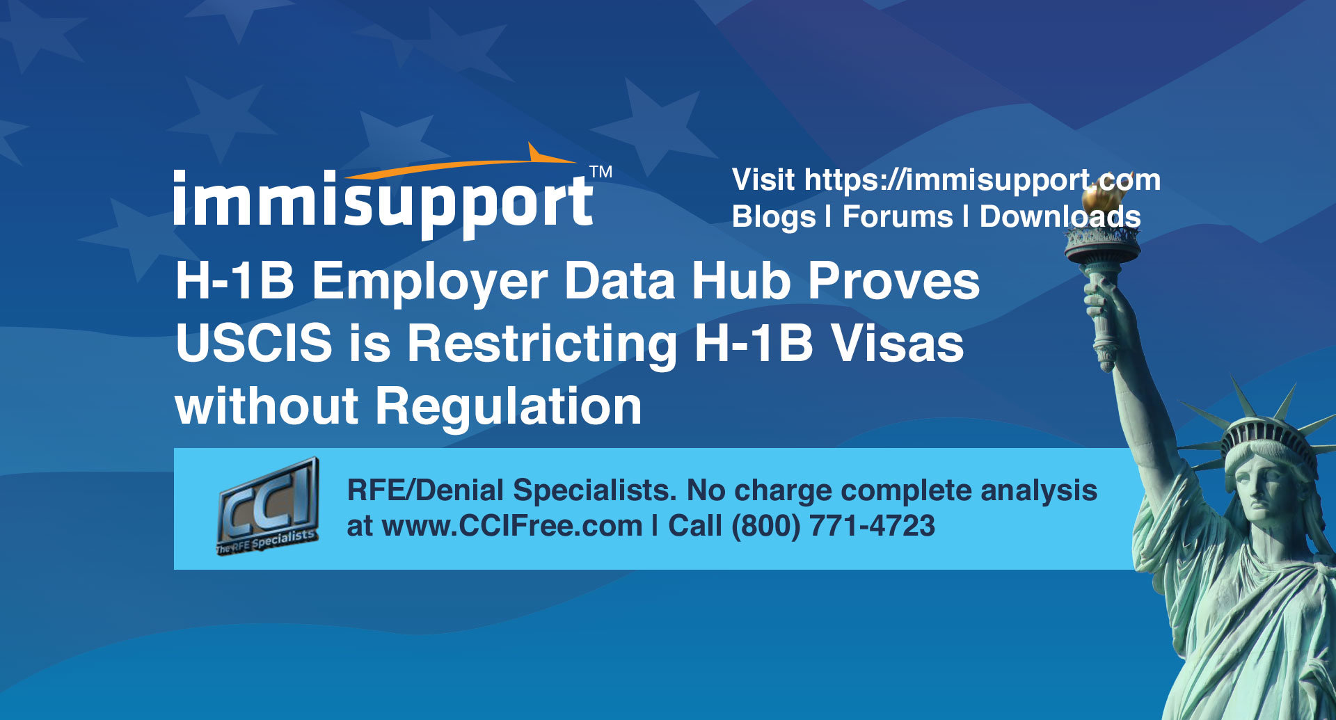 H-1B Employer Data Hub Proves USCIS is Restricting H-1B Visas without Regulation